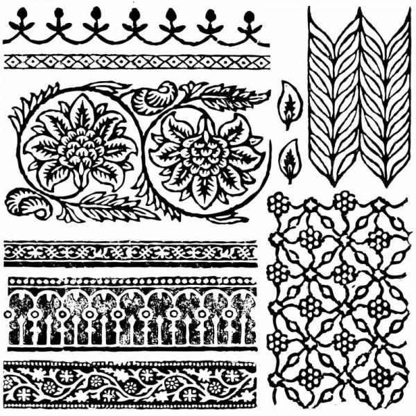 """Decor Stempel """"Bohemia"""" - Iron Orchid Designs (IOD)"""