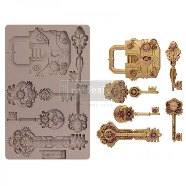 """Decor Form """"Mechanical Lock & Keys"""" von ReDesign"""