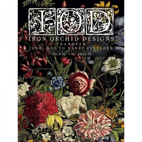 Transfer June, ode to Henry Fletcher von Iron Orchid Designs