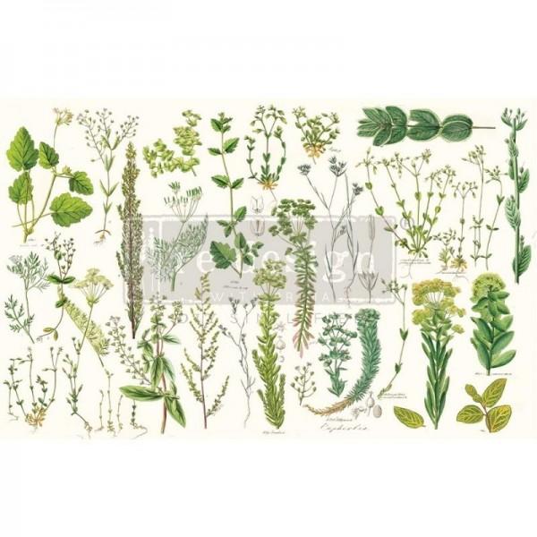 Decoupage Tissue Papier Greenery 48,26 x 76,20 cm von ReDesign