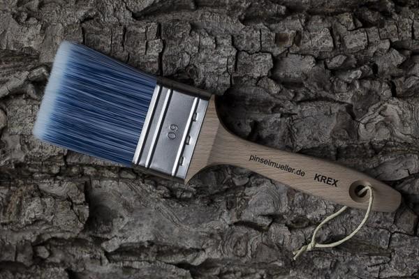 Der große Streifenfreie - Pinsel mit Krexbesatz 60 mm