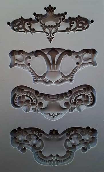 "Decor Form ""Royale"" - Iron Orchid Designs (IOD)"