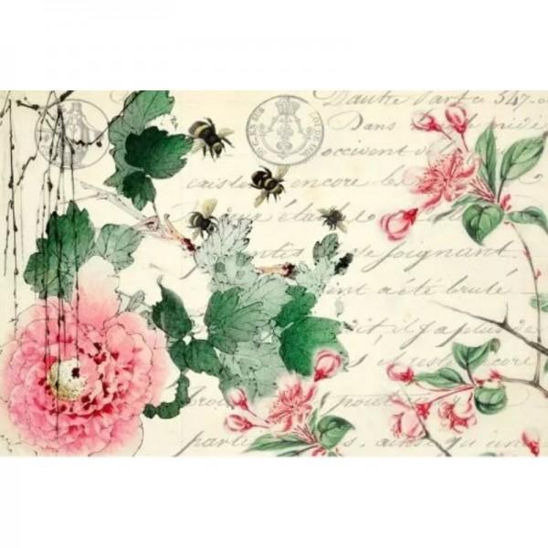 "Decoupage Tissuepapier ""Cherry Blossoms"" 50,8 x 76,2 cm von Roycycled Treasure"