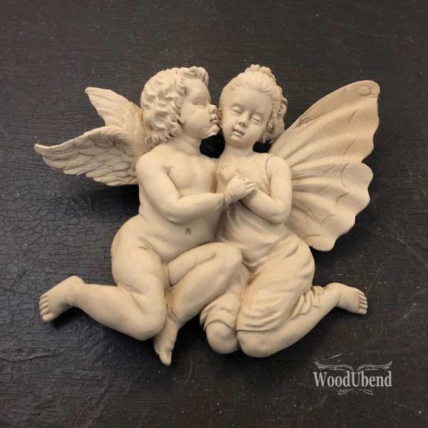 WoodUbend Engel- und Tinkerbell Ornament 18 x 5 cm