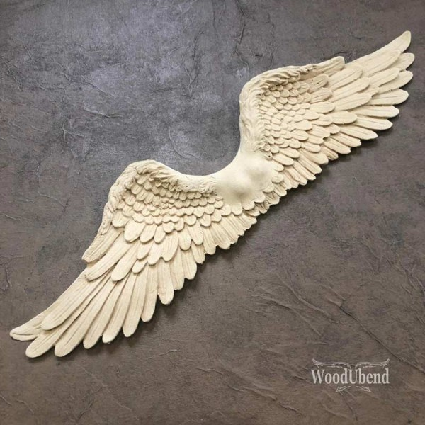 WoodUbend Engelsflügel -groß- Ornament
