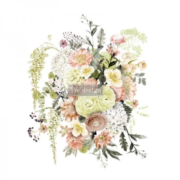 "Transfer ""Life in full Bloom"" 58,42 x 76,2 cm von Redesign"