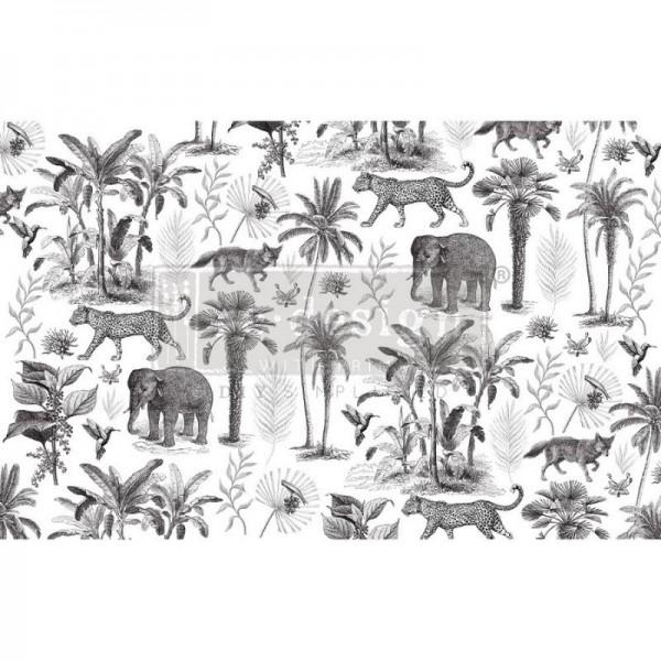 Decoupage Tissue Papier Wild Savanna 48,26 x 76,20 cm von ReDesign