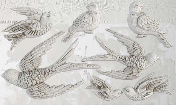 "Decor Form ""Birdsong"" - Iron Orchid Designs (IOD)"