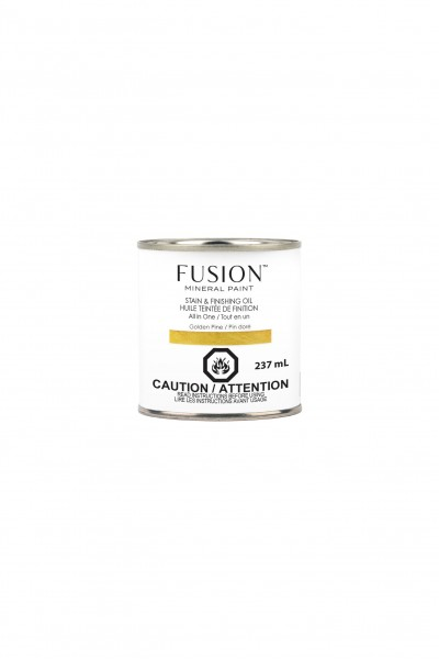 Stain & Finishing Oil von Fusion - Golden Pine - 237 ml