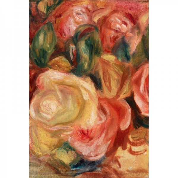 """Decoupage Tissuepapier """"Textured Floral Right"""" 50,8 x 76,2 cm von Roycycled Treasure"""