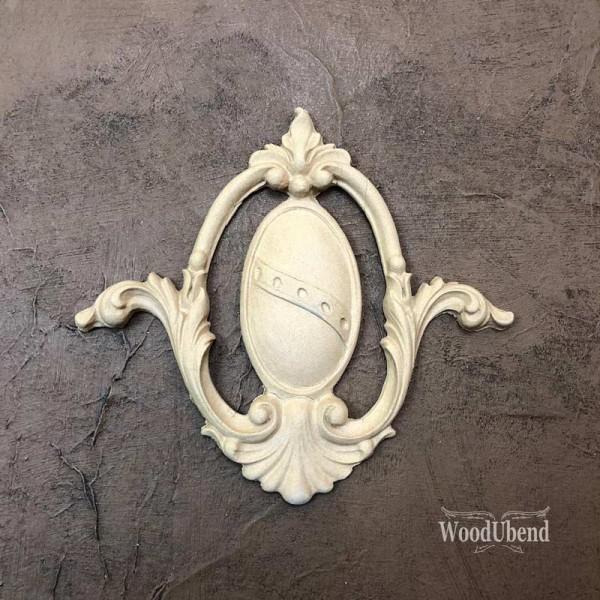 WoodUbend Plakette / Ornament 12 x 14 cm