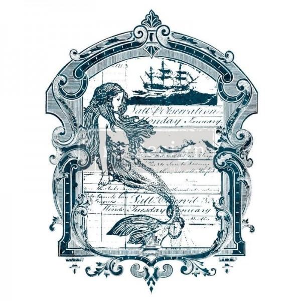 Transfer Mermaid - 55,88 x 76,20 cm von ReDesign