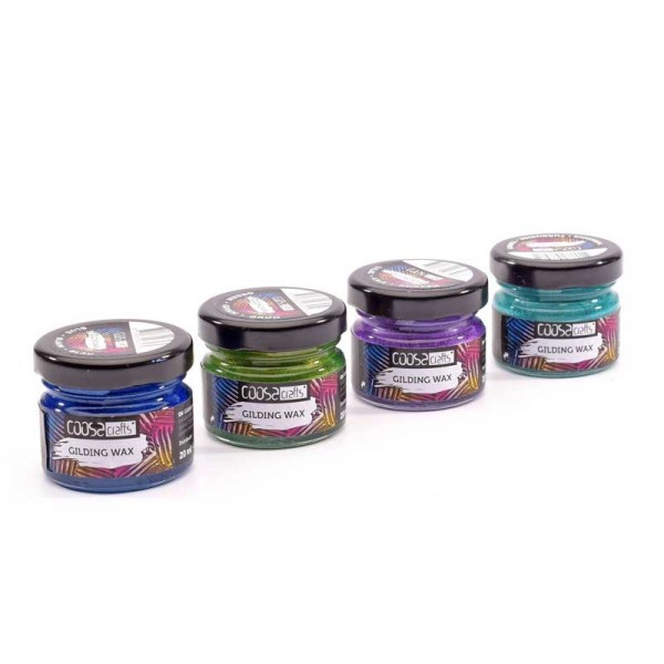 Coosa Crafts Gilding Wax Set - Metallic Colors -010