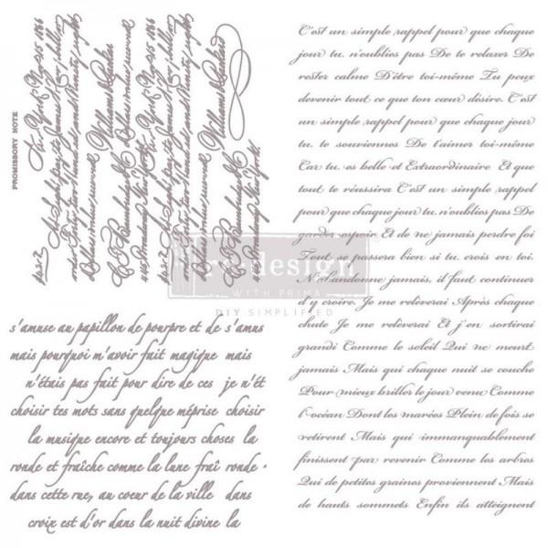 Stempel mit Schreibschriften von ReDesign
