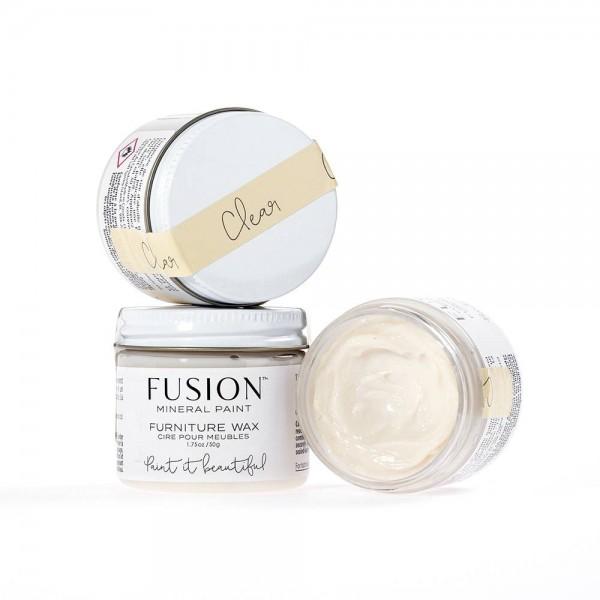"""Möbel Wachs """"Clear"""" von Fusion Mineralpaint 50 g"""