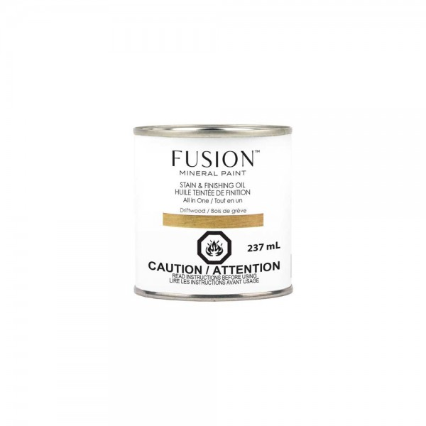 Stain & Finishing Oil von Fusion - Driftwood - 237 ml