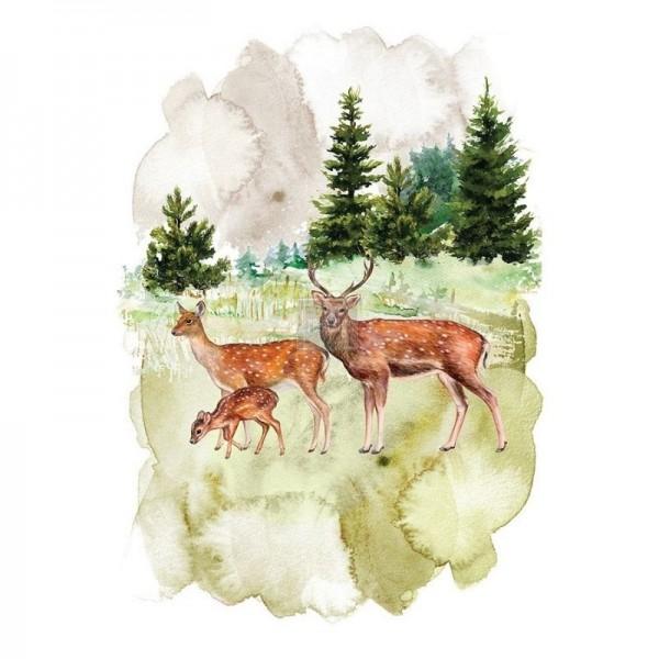 """Transfer """"Fauna"""" 58,42 x 76,2 cm von Redesign"""