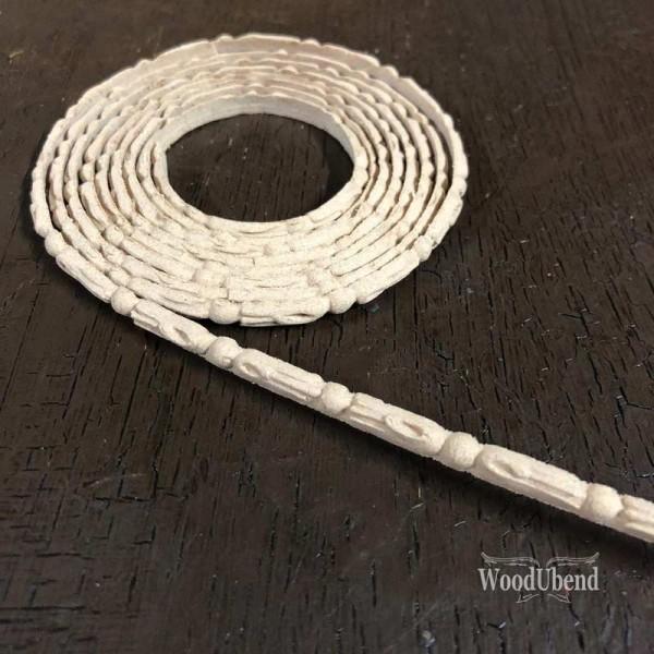 WoodUbend Trimming - Ornament gerollt - 210 x 0,4 cm