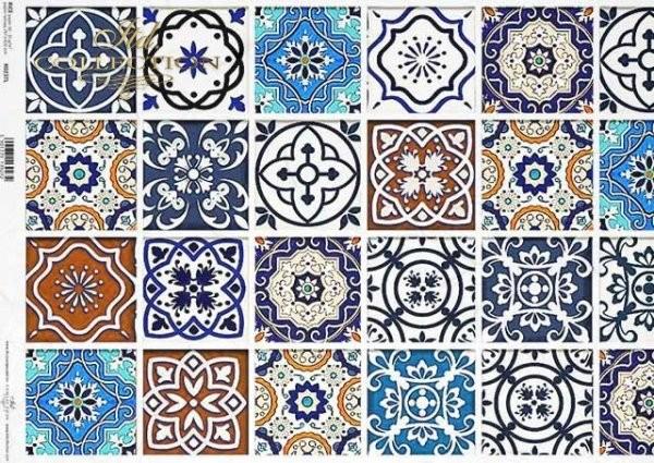 Reispapier für Decoupage - Marokko - A3