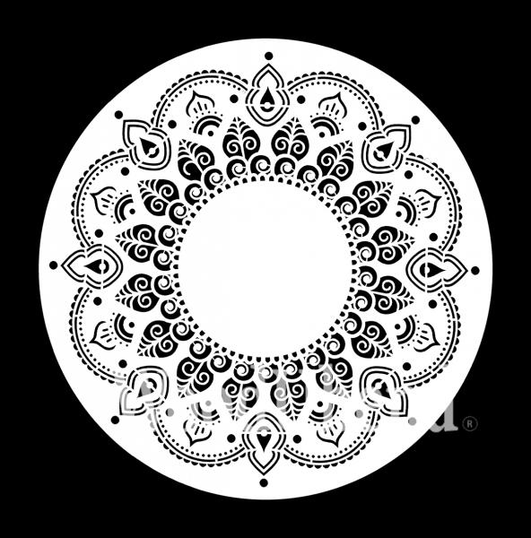 """Schablone """"Morrocan Melody"""" von Posh Chalk"""