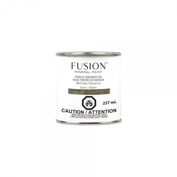 Stain & Finishing Oil von Fusion - Ebony - 237 ml