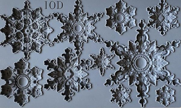 "Decor Form ""Snowflakes"" - Iron Orchid Designs (IOD)"
