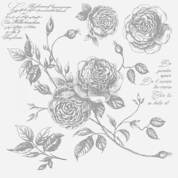 Dekorstempel Romance Roses von ReDesign - 6-teilig