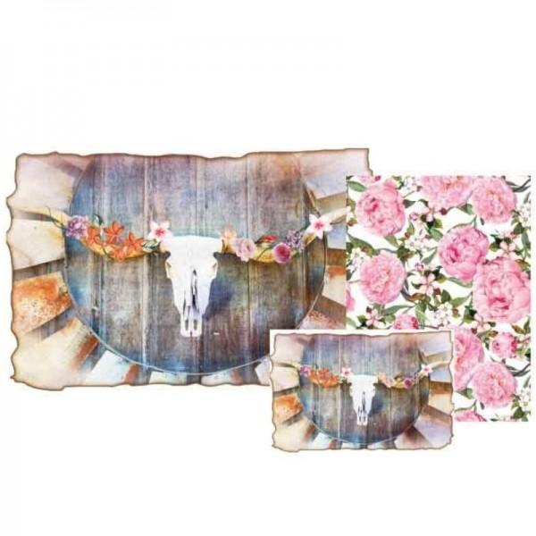 """Decoupage Papier Set """"Serendipity"""" von Grace on Design"""