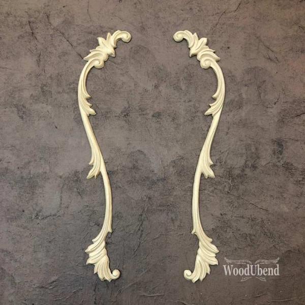 WoodUbend Tropfen - Ornament - 37,5 x 5 cm