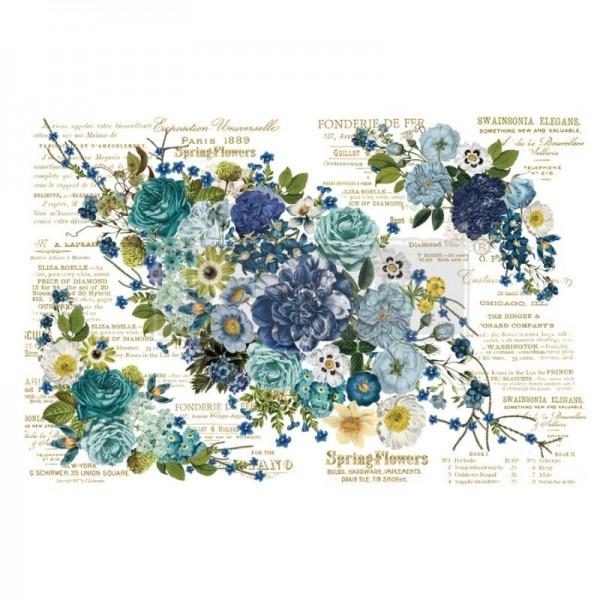 """Transfer """"Cosmic Roses"""" 111,76 x 76,2 cm von Redesign"""
