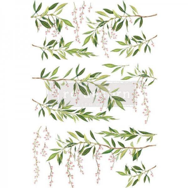 "Transfer ""Spring Branch"" 60,96 x 88,9 cm von Redesign"