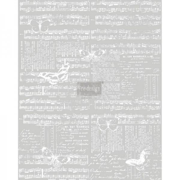 """Transfer """"Music & the Butterflies"""" 60,96 x 76,2 cm von Redesign"""