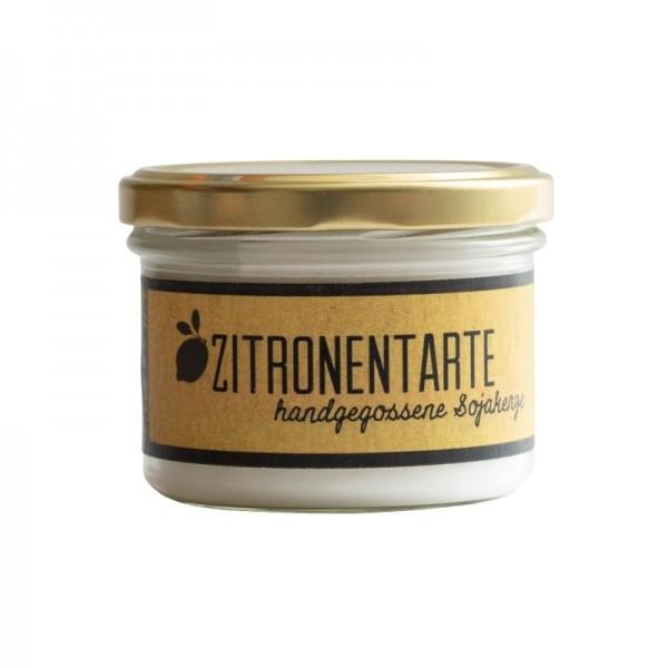 "Duftkerze aus Sojawachs ""Zitronentarte"""