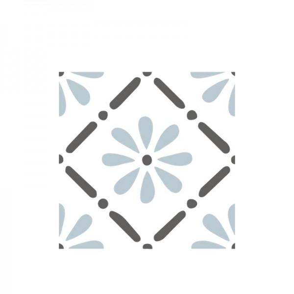 Dala Muses A5 Schablone - Floral Pattern Tile