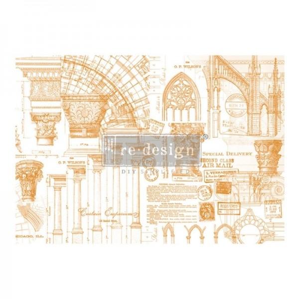 Transfer Architecture 119,38 x 86,87 cm von ReDesign