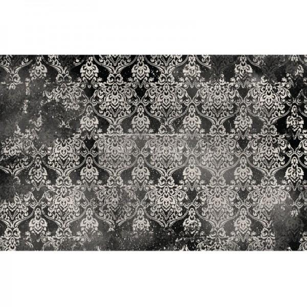 """Decoupage Tissue Papier """"Dark Damask"""" 48,26 x 76,20 cm von Redesign"""