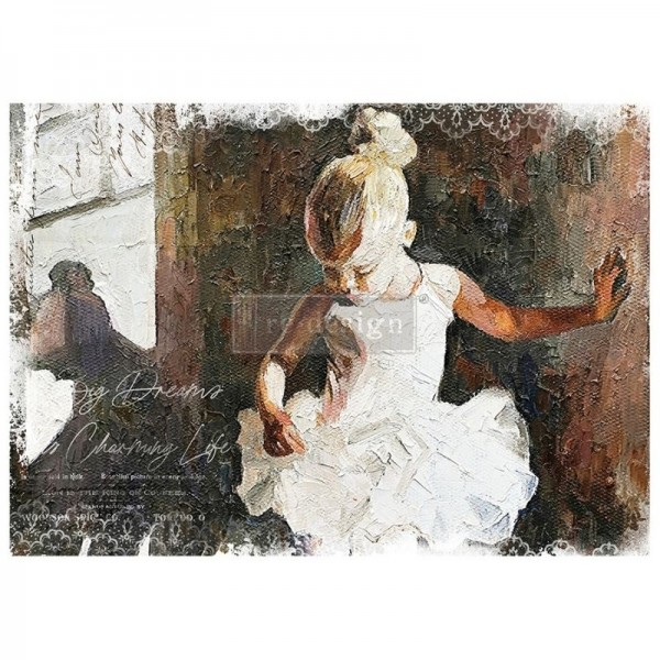 "Mulberry Tissue Papier ""Dancer"" A1 59,4 x 84,1 cm"