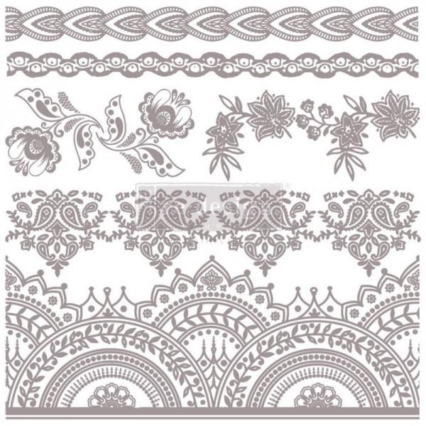 Dekorstempel Bohemian Florals von Redesign - 6-teilig