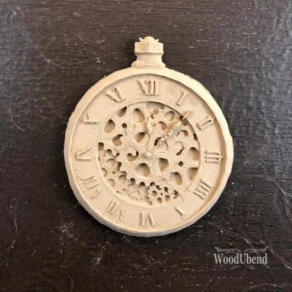 WoodUbend Uhr - Ornament 11 x 9cm