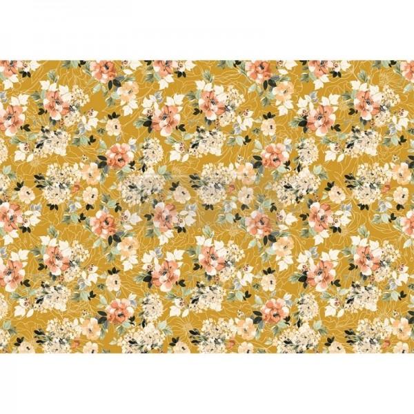 "Reispapier für Decoupage ""Fleurette Dress"" 29,21 x 41,27 cm"