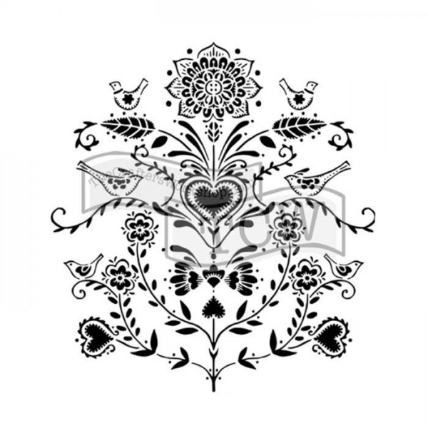 Scandi Flowers - 30 x 30 cm