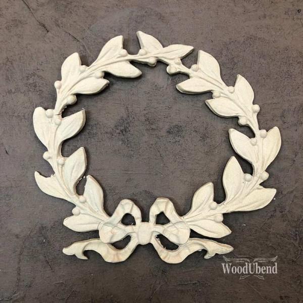 WoodUbend Kranz - Ornament - 20 x 20 cm