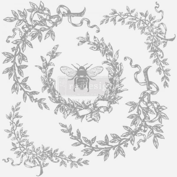 Dekorstempel French Laurels von ReDesign - 6-teilig