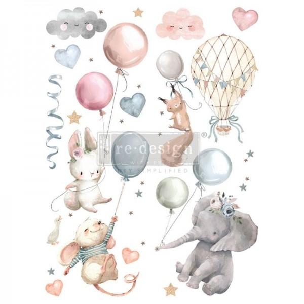 """Transfer """"Sweet Dreams"""" 60,96 x 88,9 cm von Redesign"""