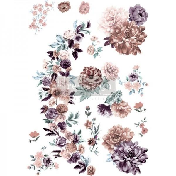 """Transfer """"Burgundy Rose Garden"""" 60,96 x 88,9 cm von Redesign"""