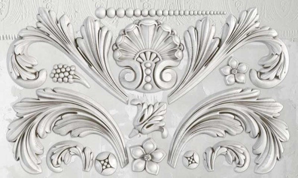 "Decor Form ""Acanthus Scroll"" - Iron Orchid Designs (IOD)"