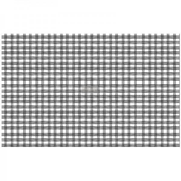 """Decoupage Tissue Papier """"Grid"""" 48,26 x 76,20 cm"""