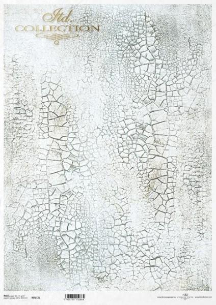 Reispapier für Decoupage - Krakelee - A3