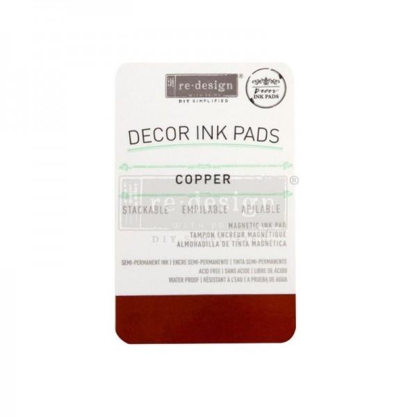 Stempelkissen - Copper/Kupfer - von redesign