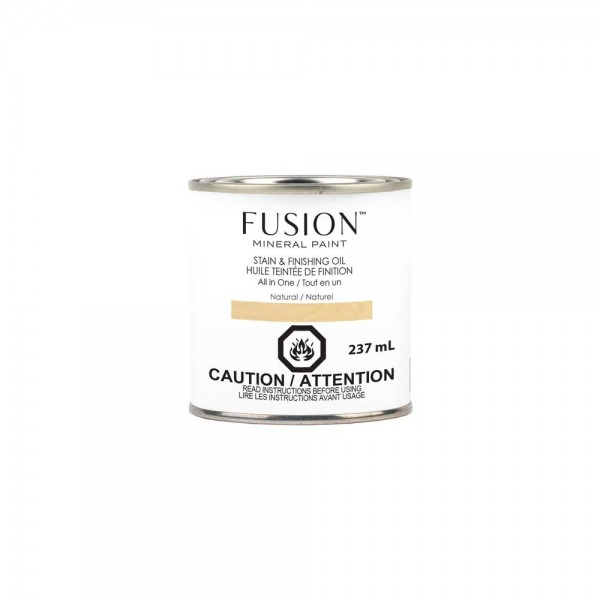 Stain & Finishing Oil von Fusion - Natural - 237 ml
